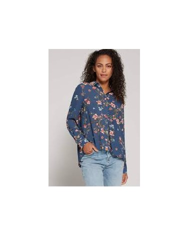 CAMISA CLAIRE L/S OVERSIDE